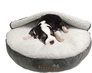 SnuggleSafe Puppy Bed
