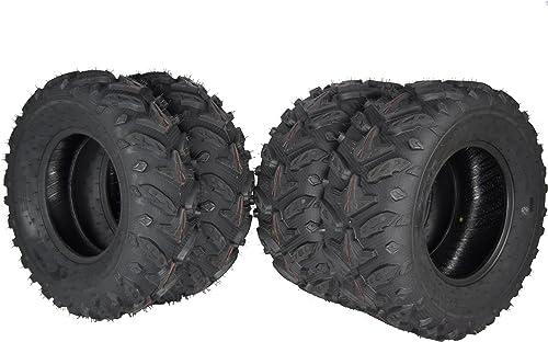 Suzuki Eiger 400 Tires Atv Sedona Mud Rebel set of 4 25x8x12  25x10-12
