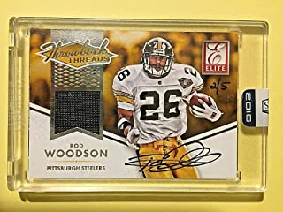 2016 Honors '15 Elite Throwback ##RW Rod Woodson Jersey Autograph Buyback #2/5