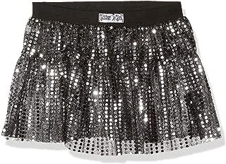 Women's Sequin Sparkle Running Skirt | Sparkle, Costume, Glitter, 5K Run | One Size - Super Stretch