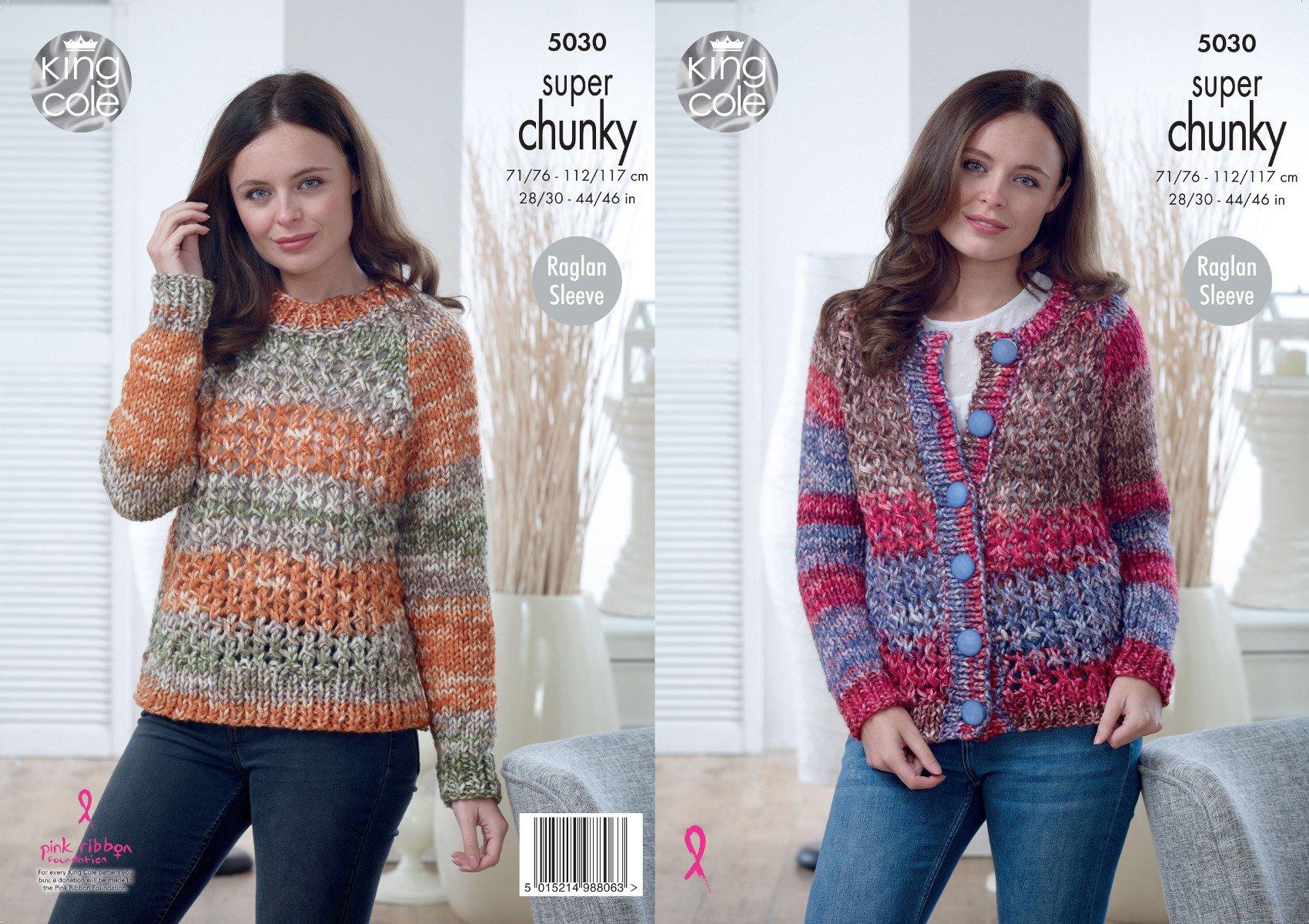 Chunky Cardigan Knitting Pattern - FREE PATTERNS