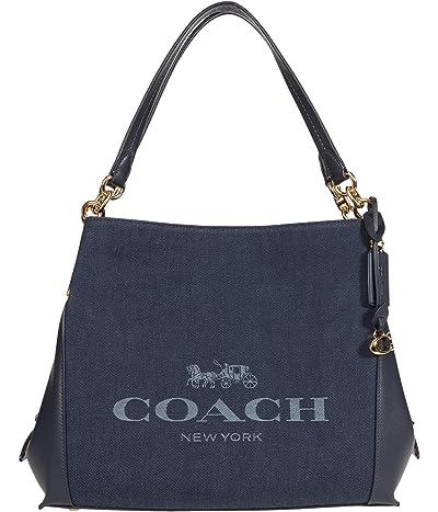 COACH Horse Carriage Jacquard Dalton Shoulder Bag