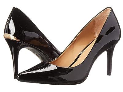 Calvin Klein Gayle Pump (Black Patent) High Heels