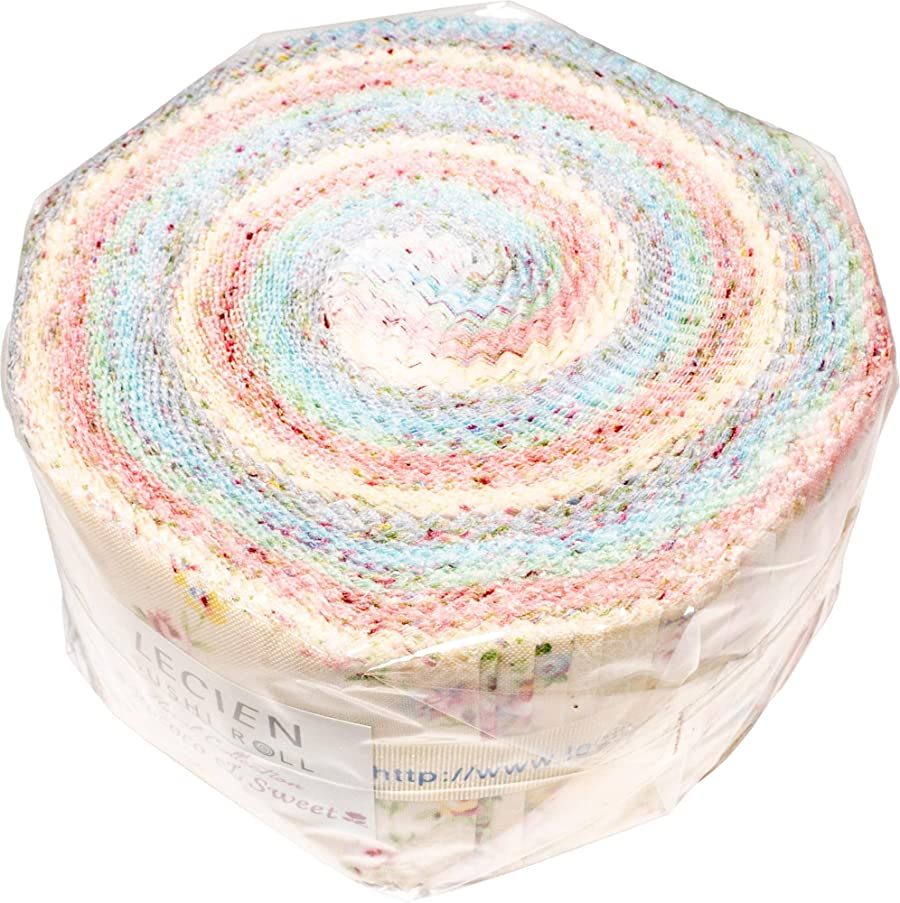 Rococo & Sweet 2019 Sushi Roll 42 2.5-inch Strips Jelly Roll Lecien