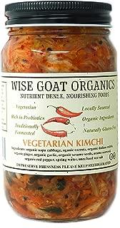 Organic Raw Vegan Kimchi, 16 Oz Glass Jar