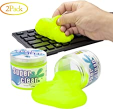 Keyboard Cleaning Gel, Unisersal Keyboard Cleaner Quickly to Remove Crumbs,Scraps,Dust,Germs,Hair for PC Tablet Laptop Keyboards, Car Vents, Cameras, Printers, Calculators, Yellow