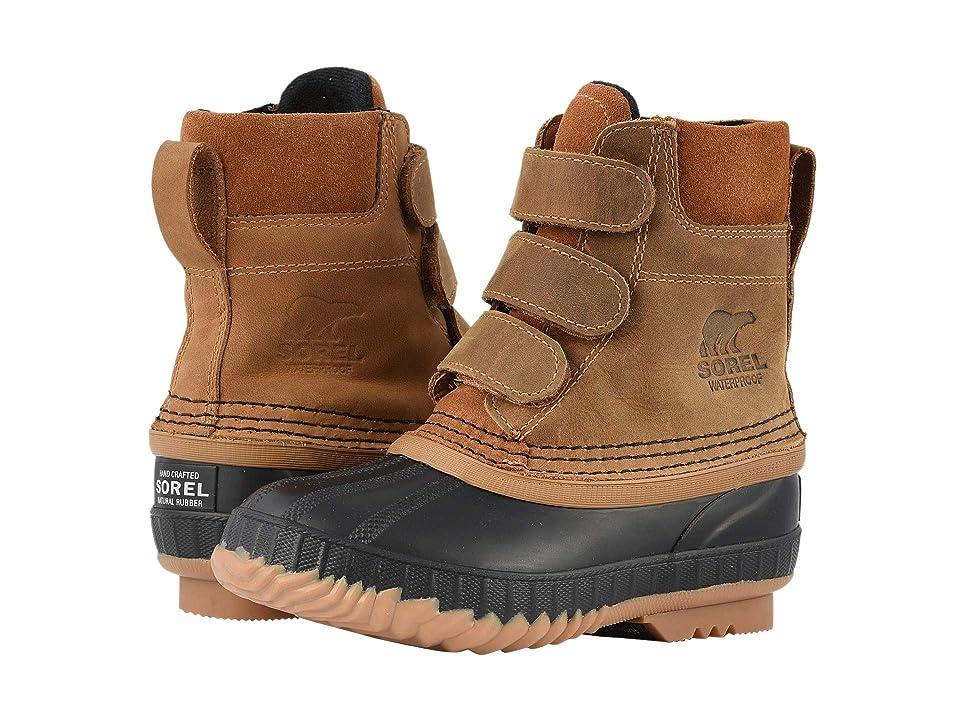 SOREL Kids Cheyannetm II Strap (Little Kid/Big Kid) (Elk/Black) Boys Shoes