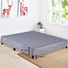 Spring Sleep Platform Bed for Mattres, King, Eliminates Need of Box Spring and Bed Frame