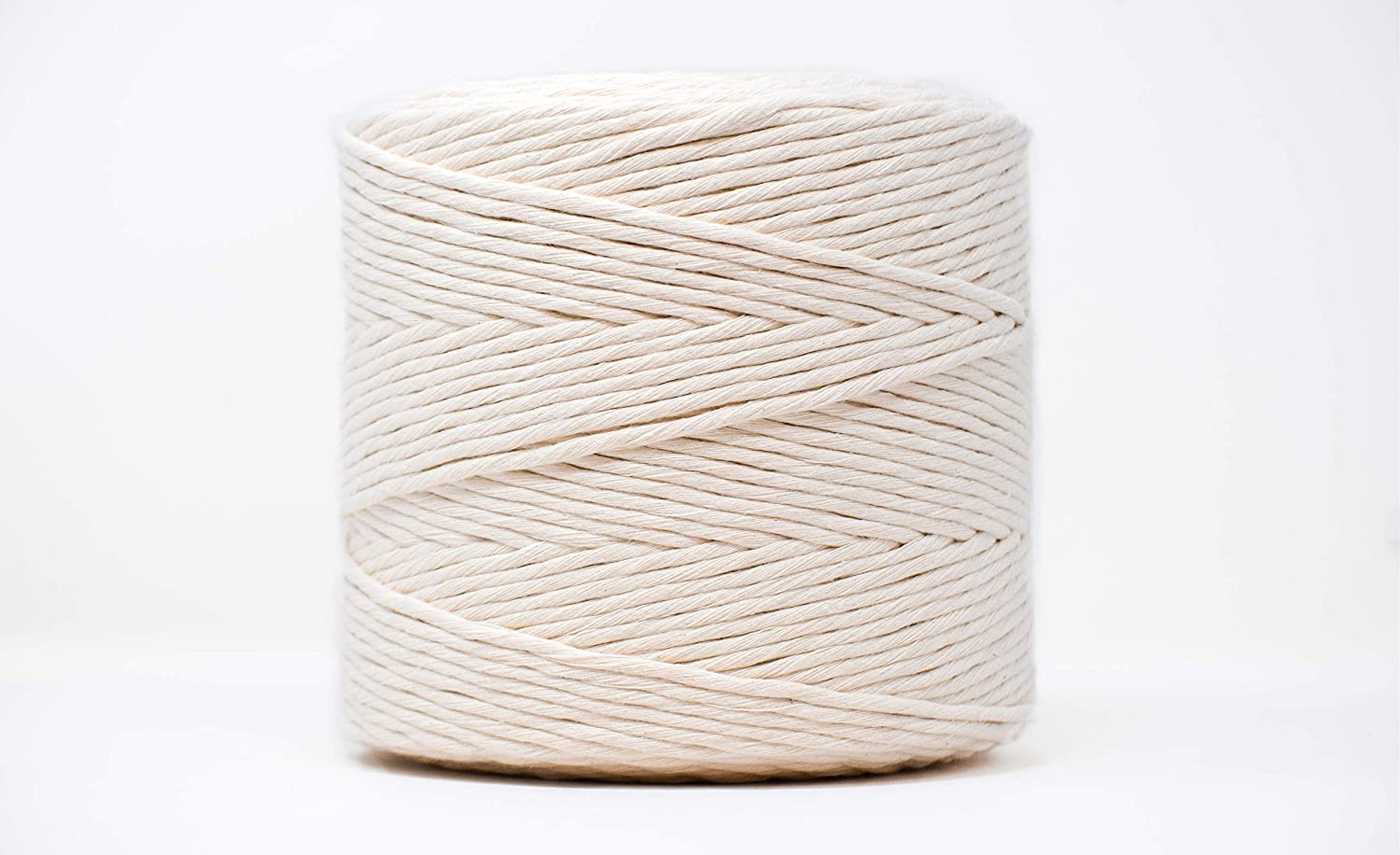 Spring new work one after another GANXXET Max 57% OFF Natural Premium Macrame Cord 1640ft x Recycled Mac 4mm
