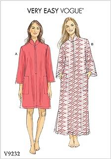 Vogue Patterns V92320Y0 Easy Caftan Dress Sewing Pattern, Sizes 4-14