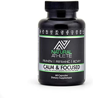 Natural Brain Booster Supplement | Supports Memory, Focus, Calm Mood, Clarity & Healthy Cortisol Levels | Nootropic Formul...