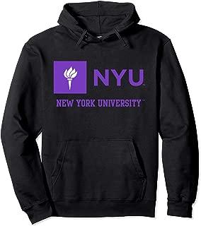 New York University NYU Violets Women's Cozy Hoodie PPNYU02