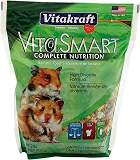 Vitakraft VitaSmart Hamster Food - High Diversity Formula, 2 Pounds Per Pack