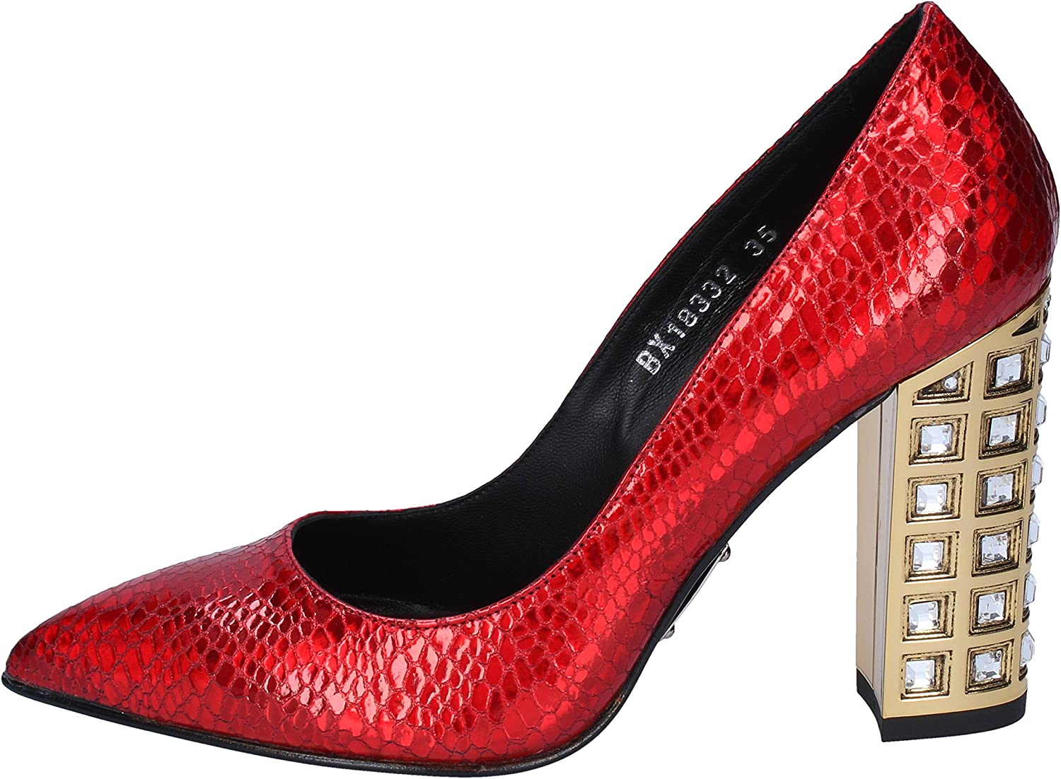 ROBERTO BOTTICELLI Pumps-shoes Womens Leather Red