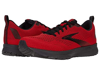 Brooks Revel 4 (Red/Black) Men