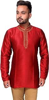 Mens Short Kurti Shirt Wedding Asian outfit 2011