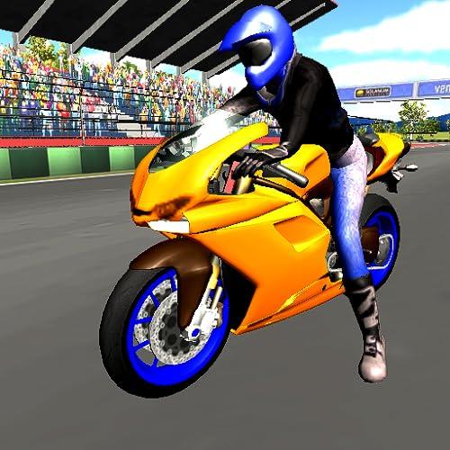 Real Rider Bike Driving Kostenloses 3D-Motorrad-Spiel