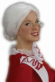 Forum Novelties Women's Holiday Mrs. Santa Costume Wig