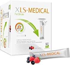 XLS-Medical Fat Binder Sachets Berry Flavour – Weight Loss Aid to Reduce Calorie Intake – 90 Sachets 30 Days Estimated Price : £ 43,10