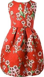 Áo quần dành cho bé gái – Girls' Lovely Flower Pattern Dresses for Special Occasions