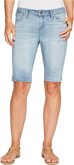 Liverpool - Bobbie Bermuda Shorts in Vintage Super Comfort Stretch Denim in Mandalay Light