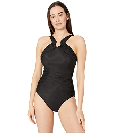 Miraclesuit Rock Solid Aphrodite One-Piece (Black) Women