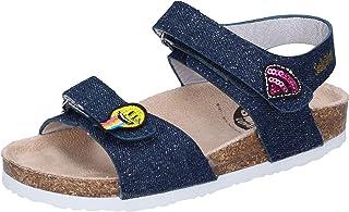 SMILEY sandales bébé fille textile Bleu