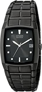 Citizen Men's Eco-Drive Stainless Black Ion-Plated Watch