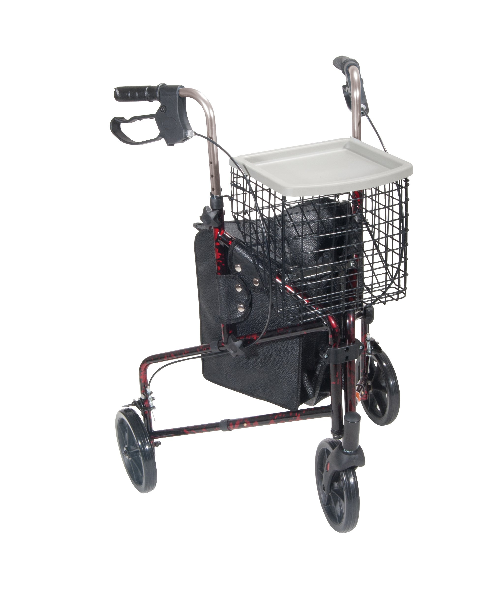 Drive Medical Wheel Rollator Flame