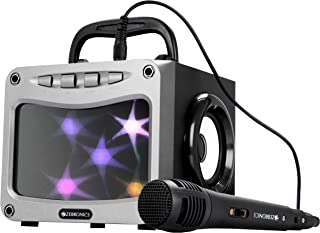 Zebronics Zeb-Mystery Portable BT Speaker with mSD, USB, AUX, FM, Mic & Decorative LED Lights