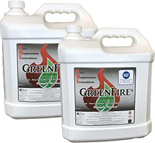 GreenFire 2.5-Gallon Home Defense Pre-Mixed Non-Toxic Fire Resistant Pre-Treatment (Pack of 2)
