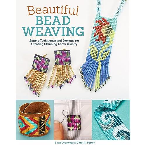 Peakdale Basic Bead Loom Kit Jewelery Design Beads Weaving Patterns