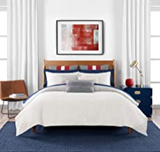 Tommy Hilfiger Quilted Monogram Duvet Cover Set