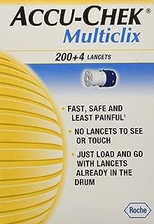Accu-Chek Multiclix 200 4 Lancets - 204 ea