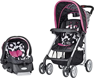 Evenflo Journey lite Travel System Embrace Marianna, Multi Color, 7321234