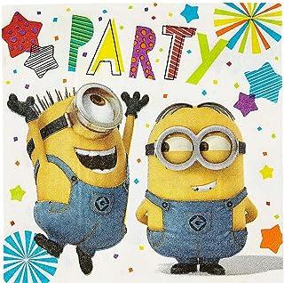 Amscan 9907314 servetten Despicable Me Minion Party