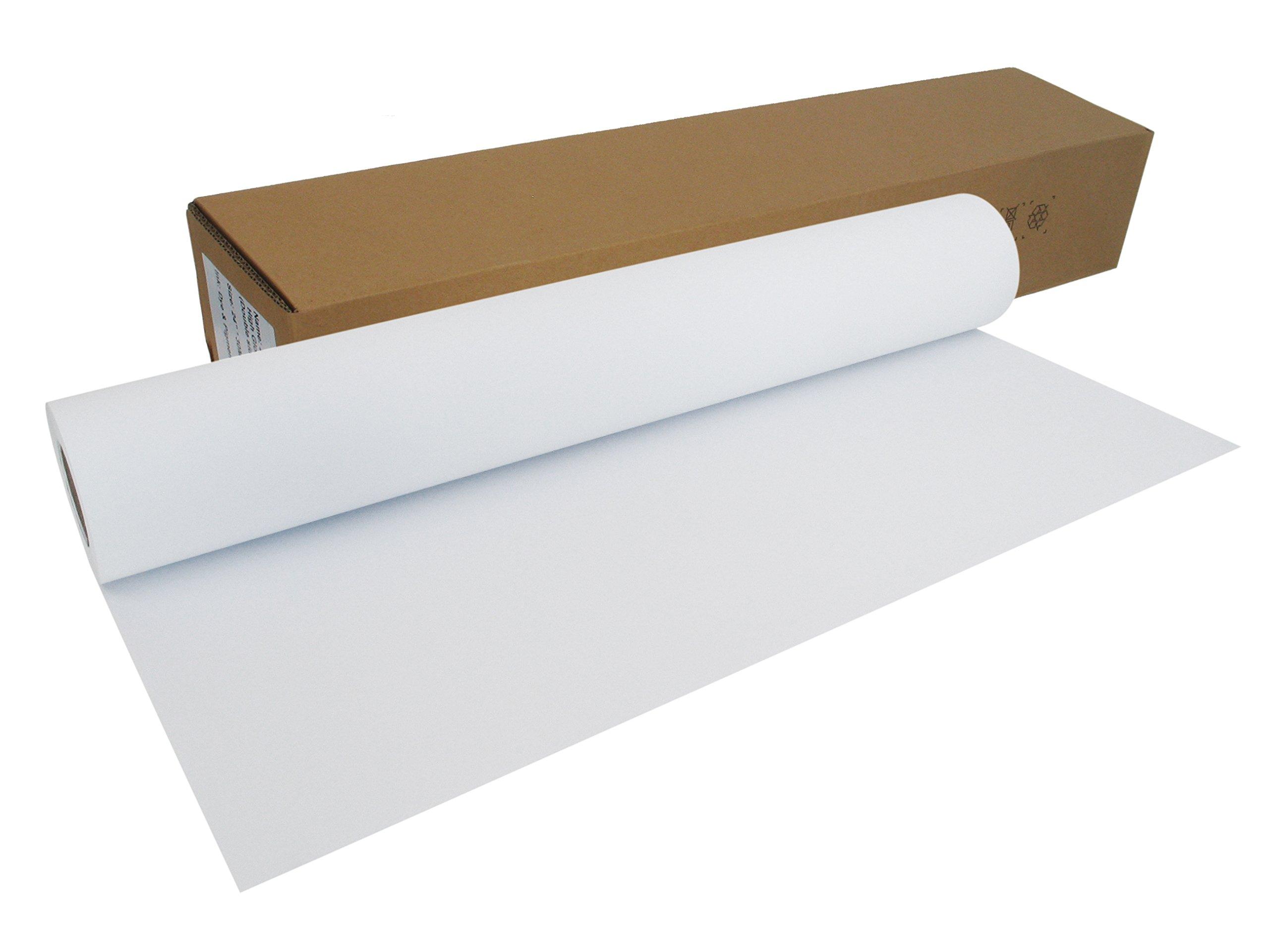 Your Design rollo mate Inkjet de papel para plóter 108 g/m², 91,4 cm x 30 m A0 A1 gestrichenes Papel universal impermeable, adecuado para tintas de colores y pigmento: Amazon.es: Oficina y