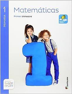 Matemáticas Mochila Ligera. 1 Primaria Saber Hacer - Pack de 3 libros - 9788468020174