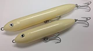 Musky Mania The Doc Bone Spook Topwater Walk The Dog Lures Includes J&B Tackle Sticker