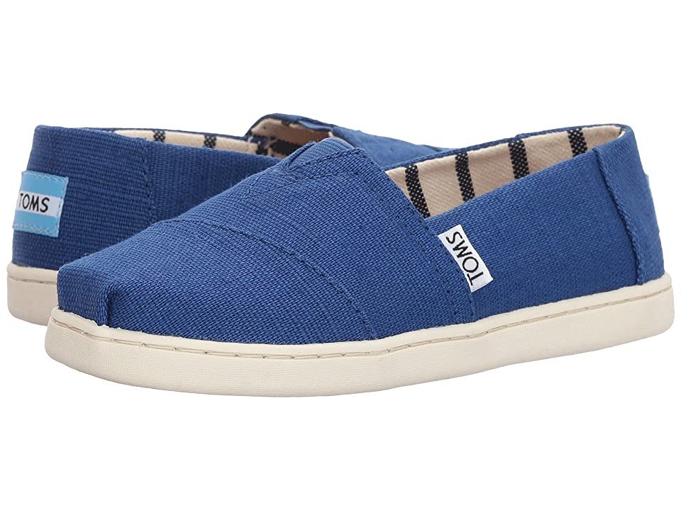 TOMS Kids Venice Collection Alpargata (Little Kid/Big Kid) (Classic Blue Heritage Canvas) Kid