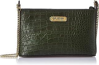 Isle Locada By Hidesign Women's Sling Bag (Green)