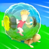 Giant Ball: Hill Rolling 3D: Escape In A Human Hamster Ball