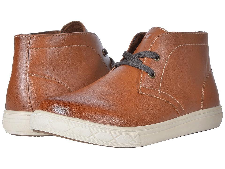 Florsheim Kids Curb Chukka Boot, Jr. (Toddler/Little Kid/Big Kid) (Cognac) Boys Shoes