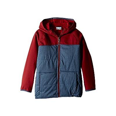 Columbia Kids Take A Hiketm Softshell Jacket (Little Kids/Big Kids) (Dark Mountain/Red Element) Boy