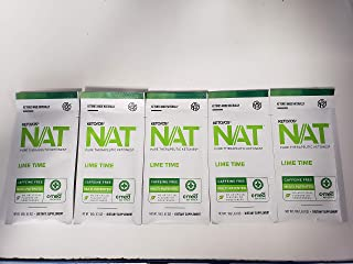Pruvit Keto OS NAT Ketones - Caffeine Free - Lime Time 5 pack