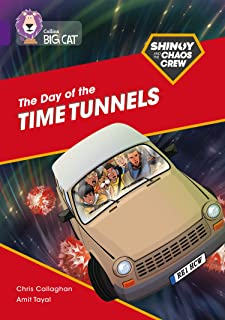 Shinoy and the Chaos Crew: The Day of the Time Tunnels: Band 08/Purple