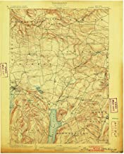 YellowMaps Richfield Springs NY topo map, 1:62500 Scale, 15 X 15 Minute, Historical, 1903, 20.1 x 16.6 in