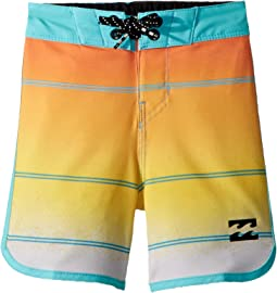 73 X Stripe Boardshorts (Toddler/Little Kids)