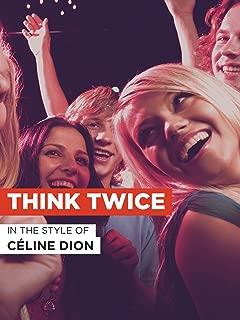 Best think twice karaoke Reviews