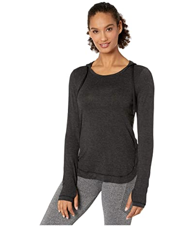 Jockey Active Everyday Long Sleeve Hoodie (Deep Black) Women